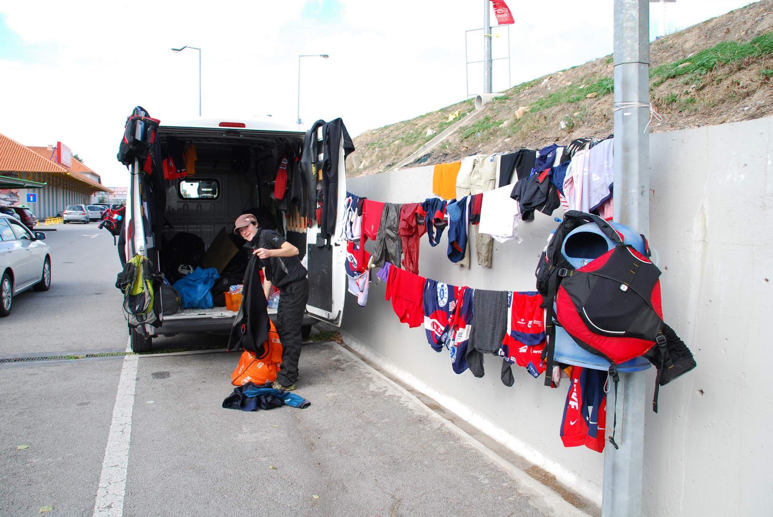 Drying gear (Portugal ARWC 2009)