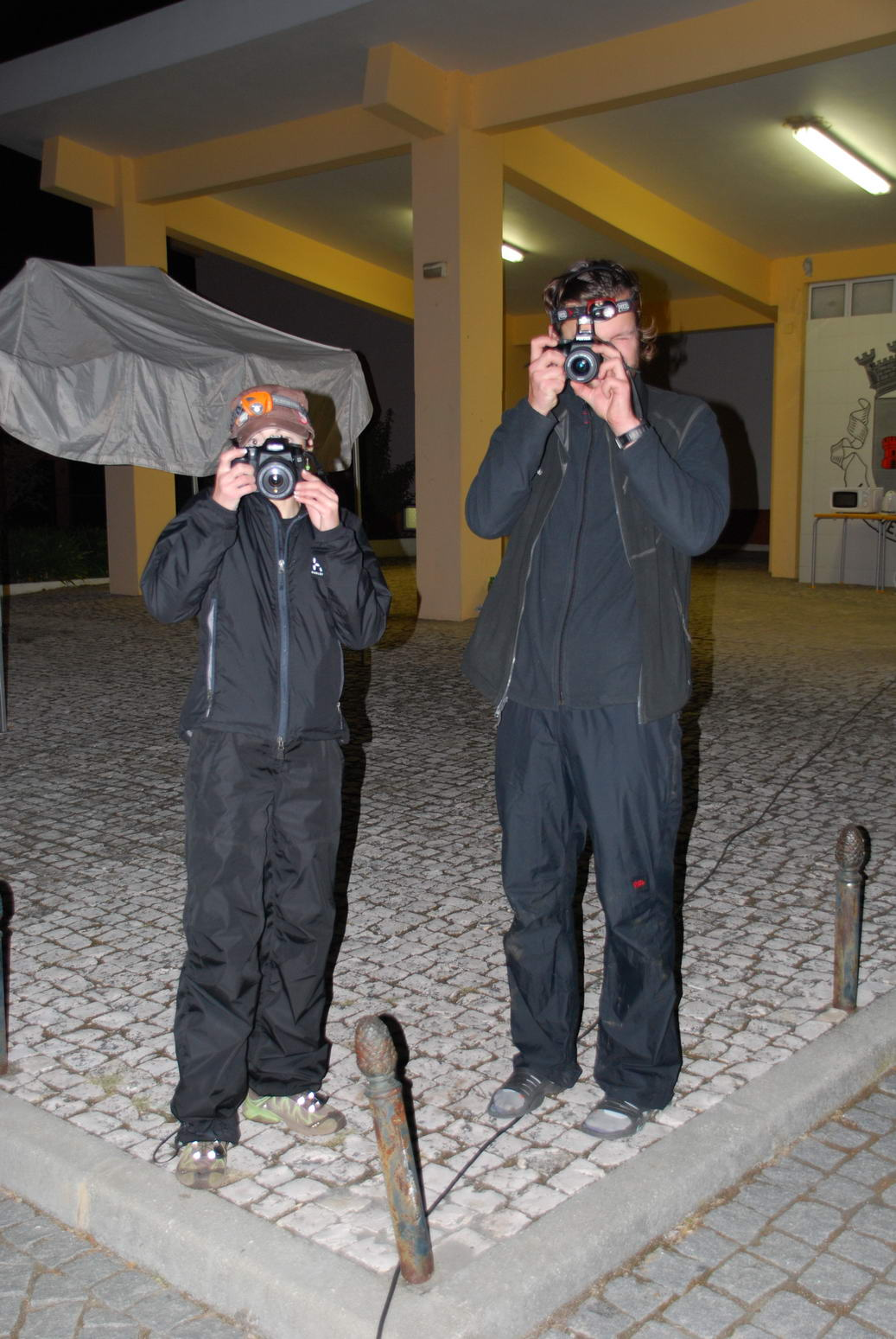 Kati and Andreas being silly (Portugal ARWC 2009)