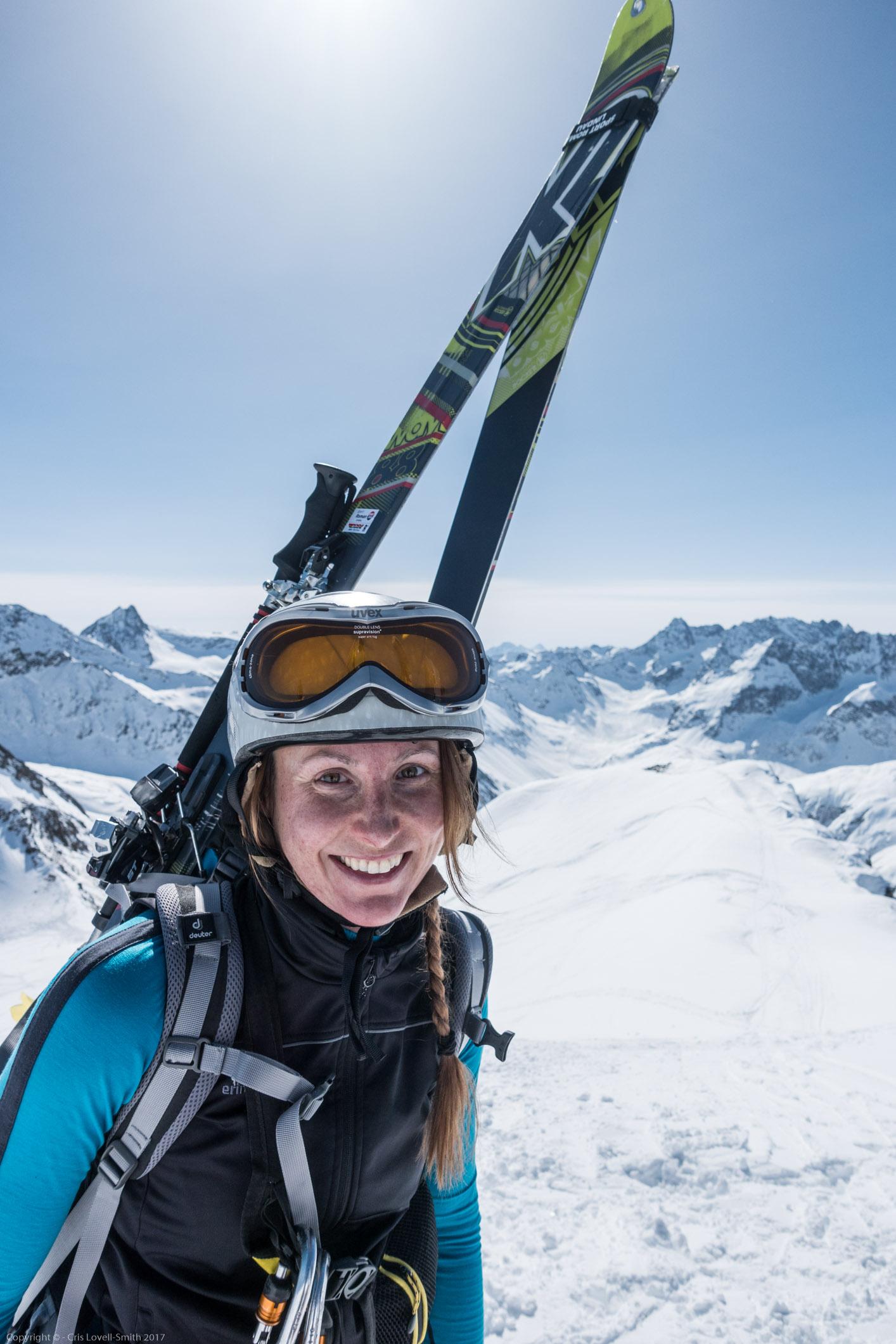 Leonie 2 (Arlberger Winterklettersteig March 2017)