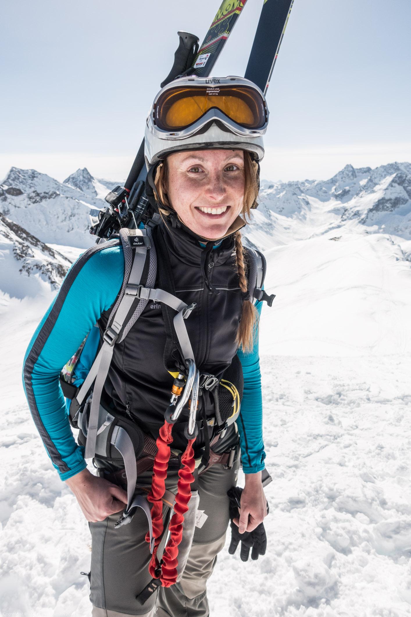 Leonie 3 (Arlberger Winterklettersteig March 2017)