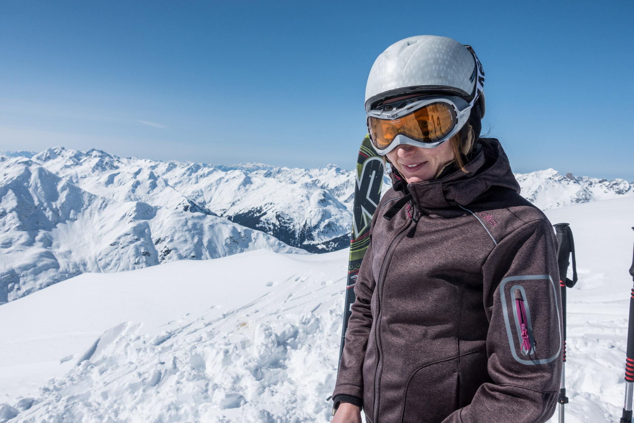 Leonie (Arlberger Winterklettersteig March 2017)