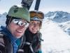 Cris and Leonie (Arlberger Winterklettersteig March 2017)