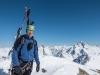 Cris posing 2 (Arlberger Winterklettersteig March 2017)