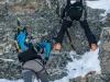 Onto the rope (Arlberger Winterklettersteig March 2017)