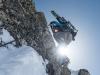 Sun boot (Arlberger Winterklettersteig March 2017)