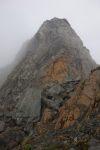 A misty ridge to follow (Ball Pass Dec 2013)