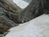 Descending on snow (Ball Pass Dec 2013)