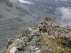 Walking along the ridge (Ball Pass Dec 2013)