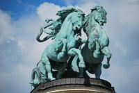 Classy horses (Budapest, Hungary)