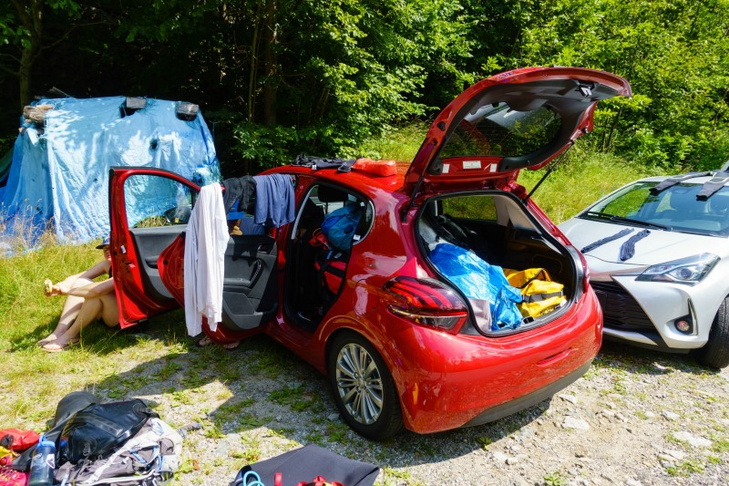 Gear explosion (Canyoning Italy 2019)