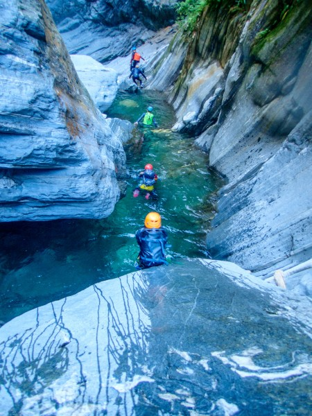 Going down 2 (Canyoning Italy 2019)