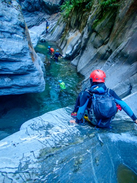 Going down (Canyoning Italy 2019)