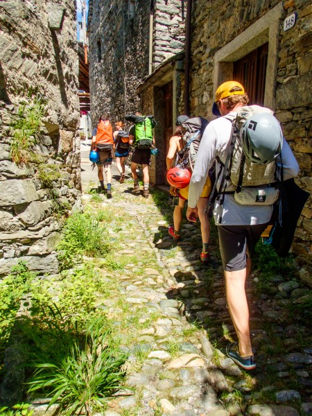 Heading off again (Canyoning Italy 2019)