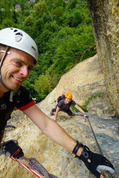 Kaenzele klettersteig (Canyoning Italy 2019)