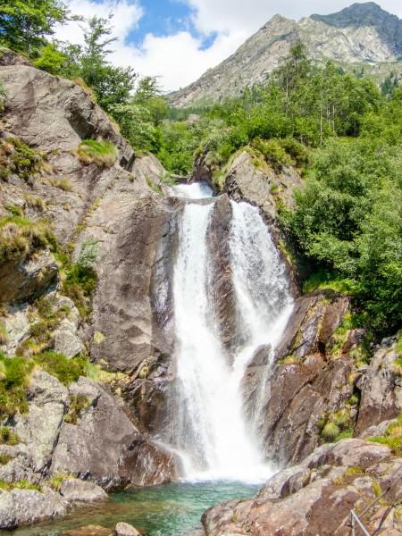 Nice waterfall (Canyoning Italy 2019)