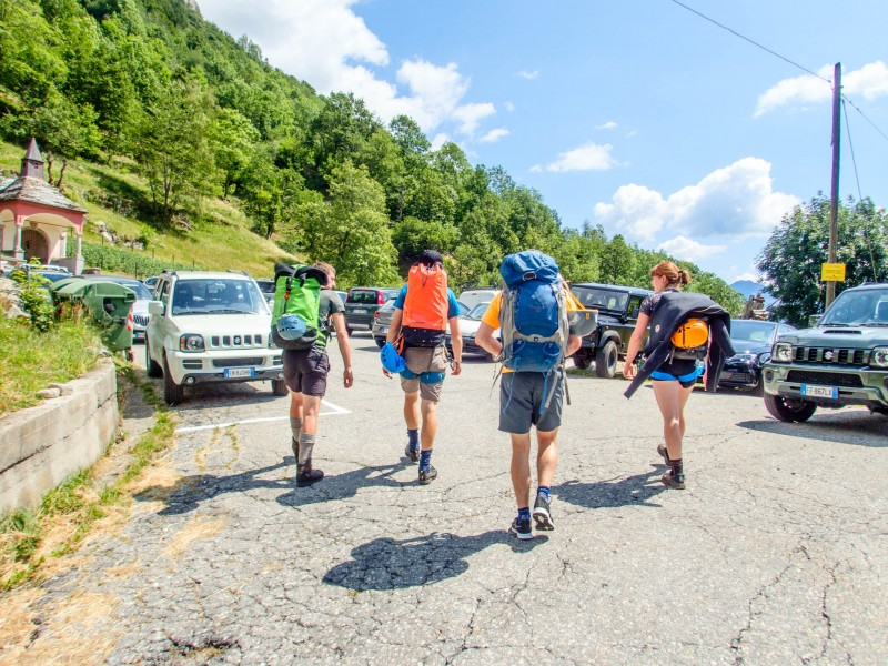Setting off (Canyoning Italy 2019)