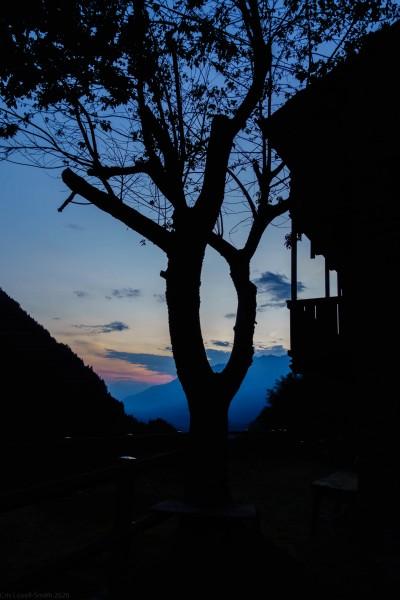 Sunset near Como (Canyoning Italy 2019)