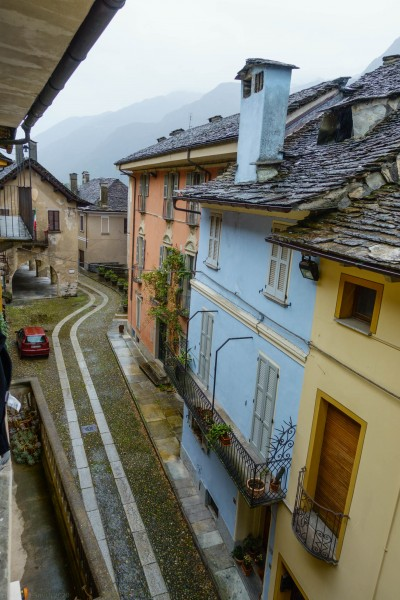 View down the street (Canyoning Italy 2019)