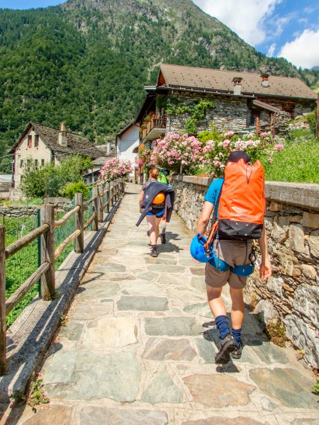 Walking (Canyoning Italy 2019)