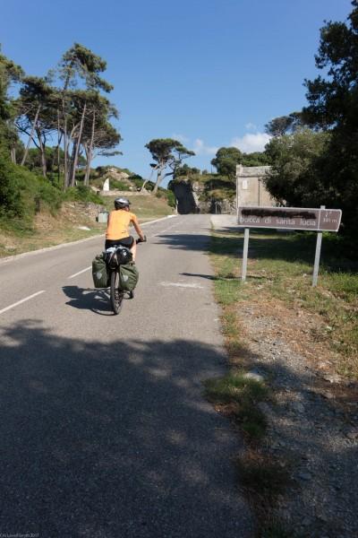 Arriving at Bocca di Santa Lucia (Corsica)