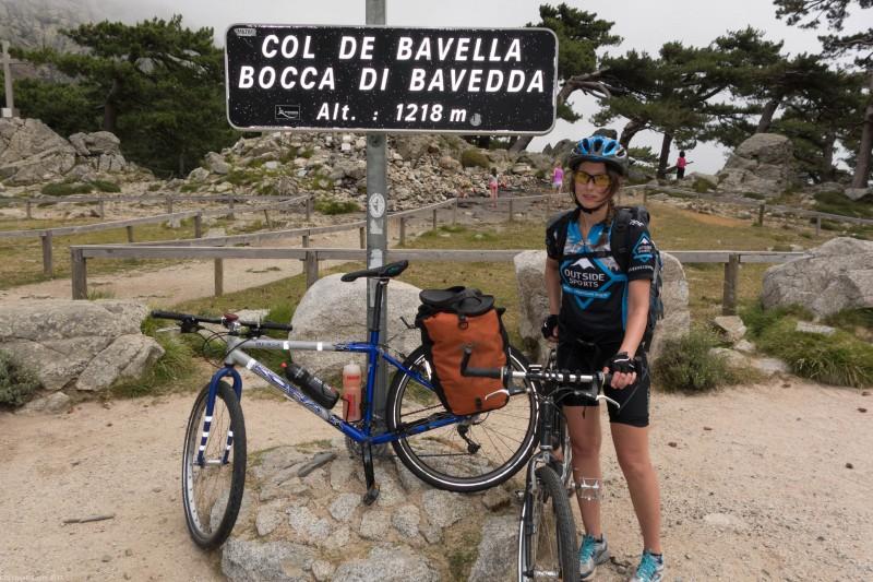 Leonie at Col de Bavella (Corsica)