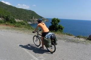 Leonie sets off around Cap Corse (Corsica)