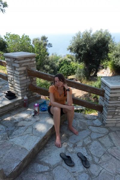 Taking a break (Corsica)