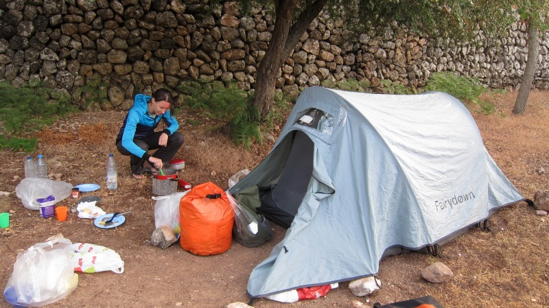 Camping in the mountains 2 (Mallorca)