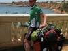 Cris on bike (Mallorca)