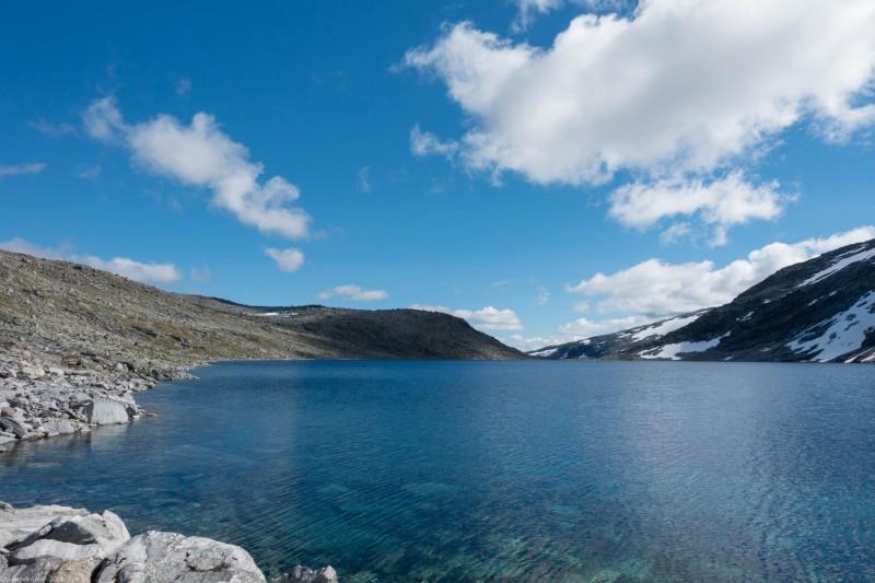 A lake (Cycle Touring Norway 2016)