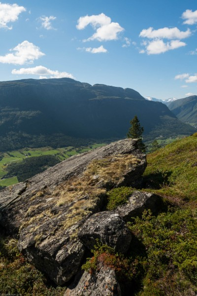 A view (Cycle Touring Norway 2016)