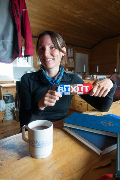 Brexit biscuits (Cycle Touring Norway 2016)