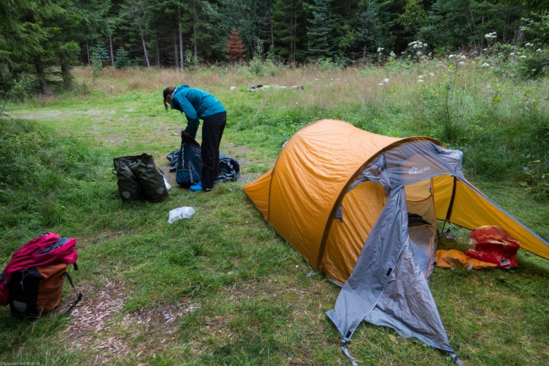 Camping (Cycle Touring Norway 2016)