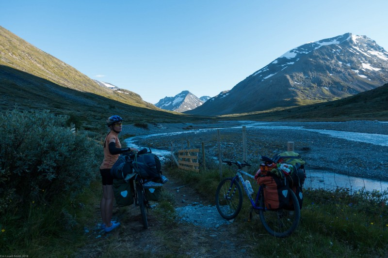 Deciding where to camp (Cycle Touring Norway 2016)