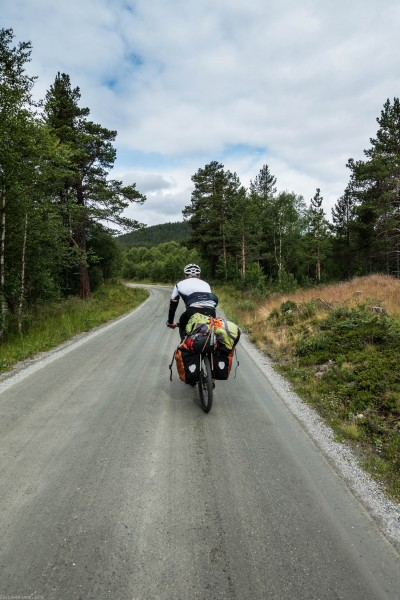 Fat boy (Cycle Touring Norway 2016)