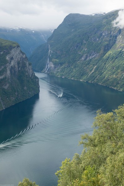 Geiranger (Cycle Touring Norway 2016)
