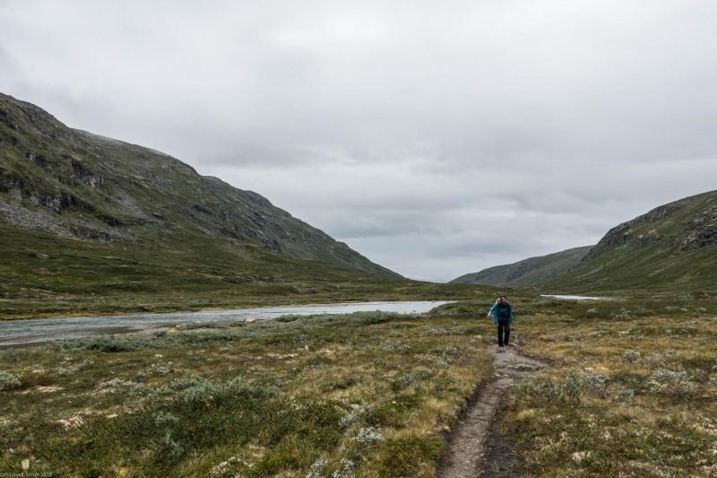 Grey walk (Cycle Touring Norway 2016)