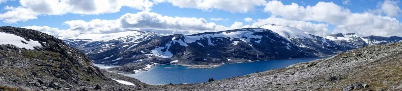 Lake view (Cycle Touring Norway 2016)