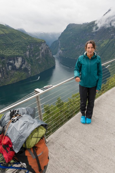 Leonie and Gieranger (Cycle Touring Norway 2016)