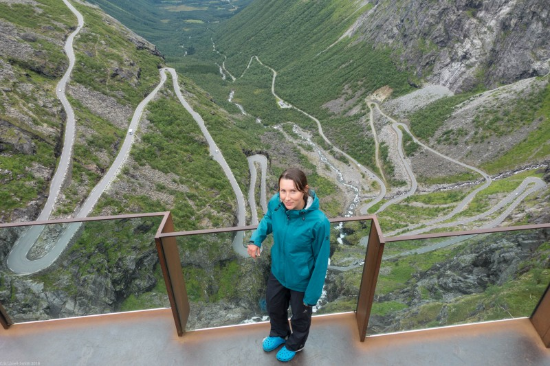 Leonie and the Trollstigen (Cycle Touring Norway 2016)