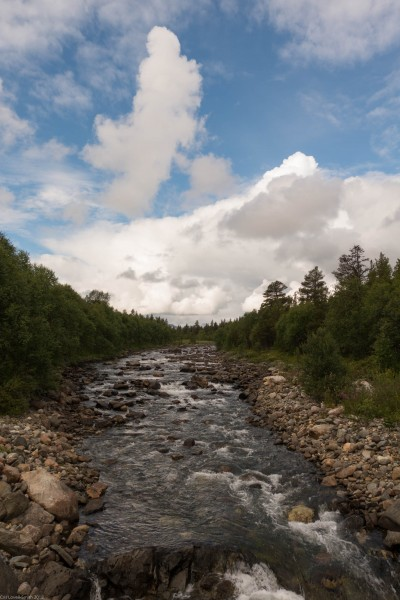 More blue sky (Cycle Touring Norway 2016)