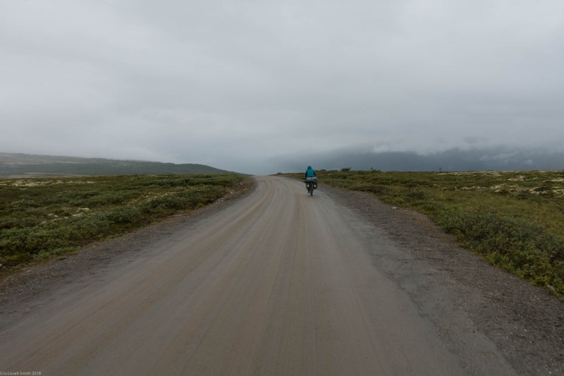 More gravel (Cycle Touring Norway 2016)