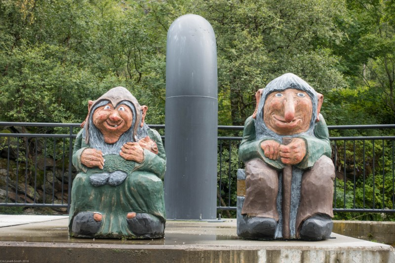 More trolls (Cycle Touring Norway 2016)