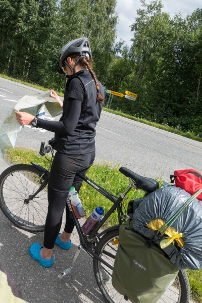 Oh, oh, where are we? (Cycle Touring Norway 2016)