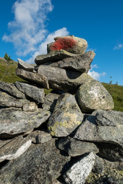 Pile of rocks (Cycle Touring Norway 2016)