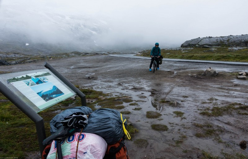 Rain and cold (Cycle Touring Norway 2016)