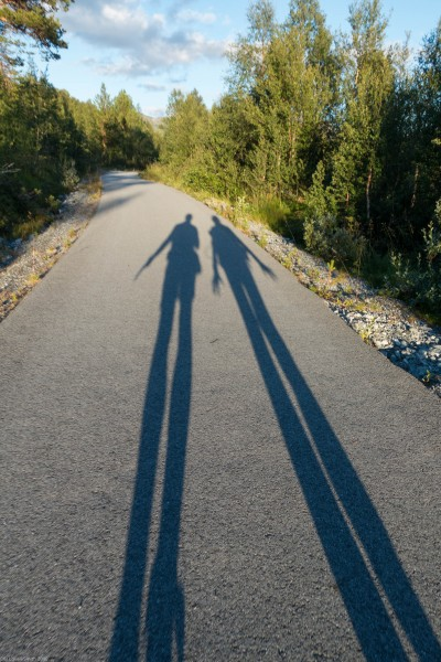 Shadows (Cycle Touring Norway 2016)