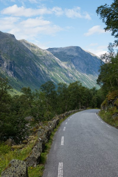 Small road (Cycle Touring Norway 2016)