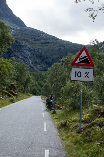 Steep (Cycle Touring Norway 2016)