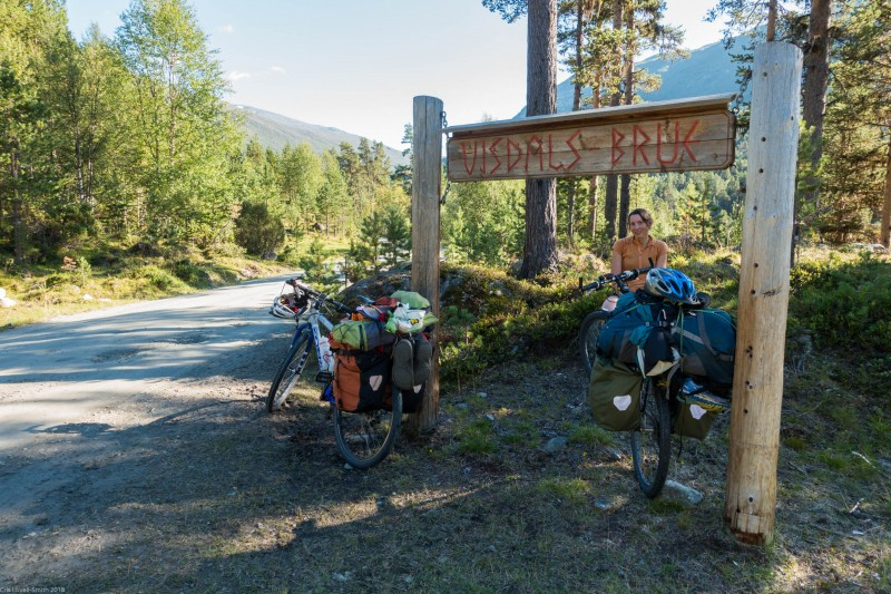Taking a break (Cycle Touring Norway 2016)